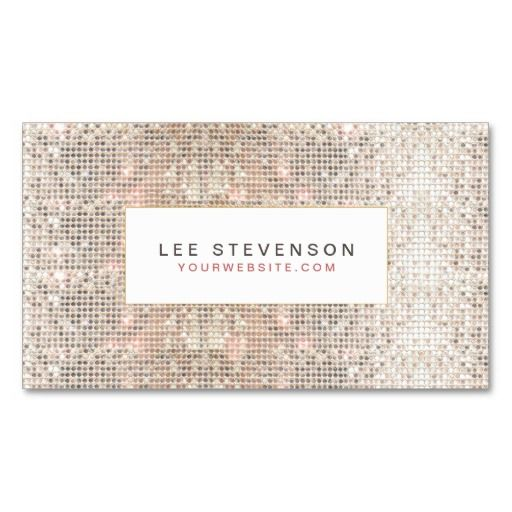 Modern faux sequins beauty and fashion retro business card modern faux sequins beauty and fashion retro business card cheaphphosting Image collections