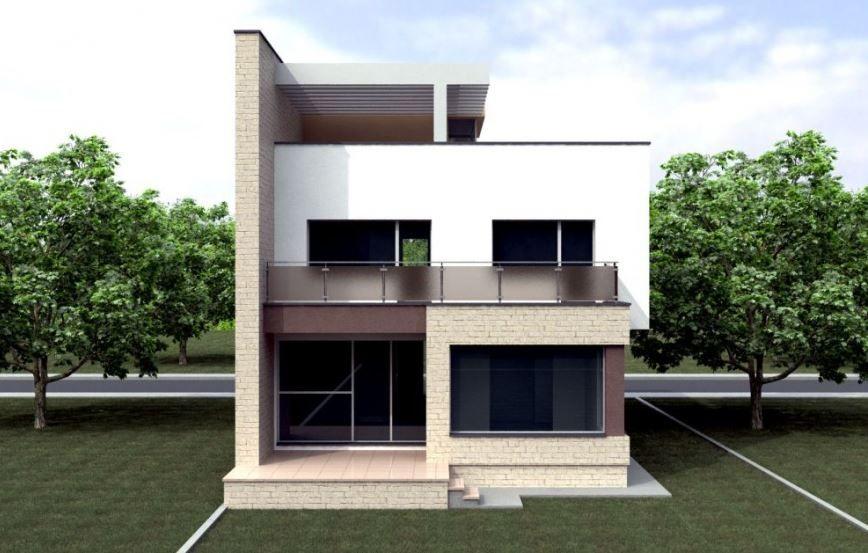 Planos De Casas De Dos Pisos Por Dentro Y Por Fuera Disenos De Casas Casas Casas De Dos Pisos