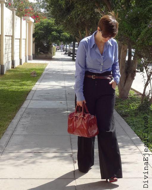 Divina Ejecutiva: Mis Looks: Pantalones cintura alta