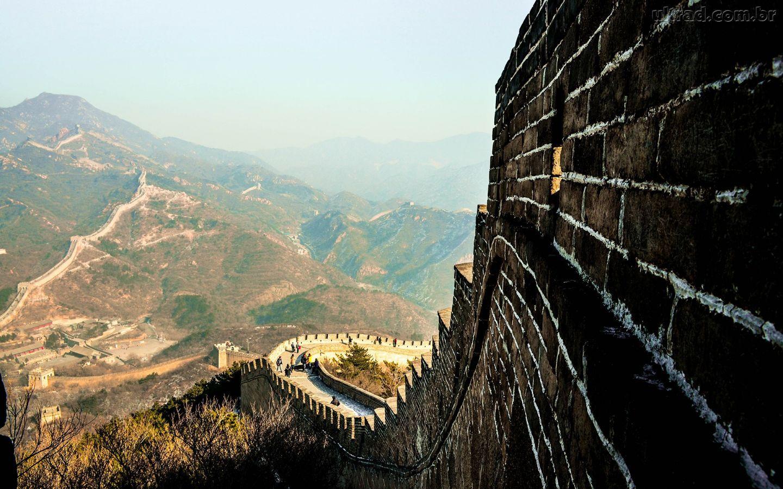 Papel de Parede - A Muralha da China