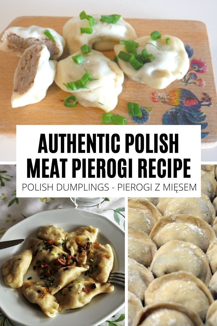Photo of Traditional Polish Meat Pierogi Recipe [+ Tips What Kind Of Meat To Choose]