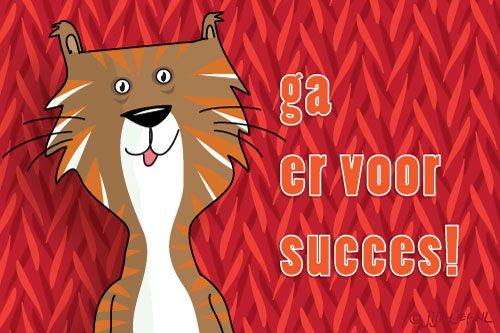 "Gratis e-card: ""Ga+er+voor,+succes!"""