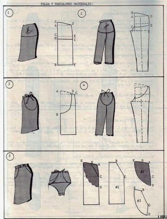 Modelagem para gravidas - embarazadas patrones:-) | Sewing ...