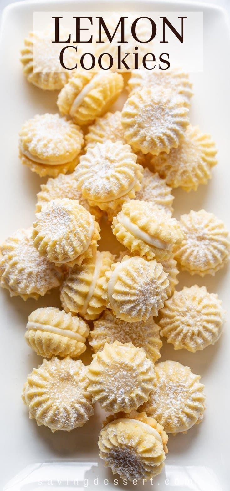 Photo of Lemon Cookies with Lemon Cream Filling