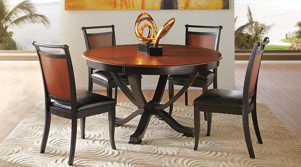 affordable round dining room sets rooms to go furniture home furniture picks pinterest. Black Bedroom Furniture Sets. Home Design Ideas