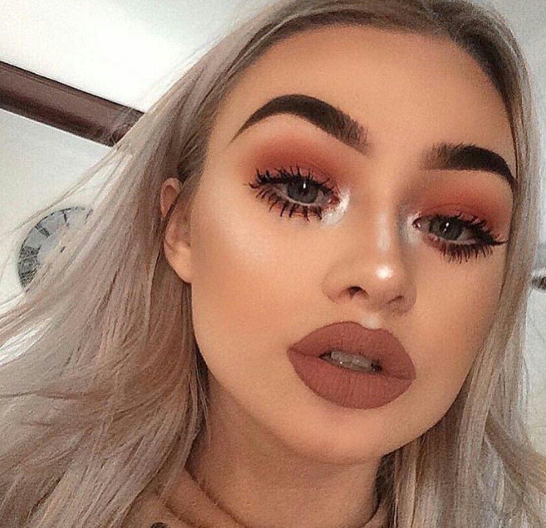 pinterest // queenlikekat ☾☼ | fall makeup looks, makeup