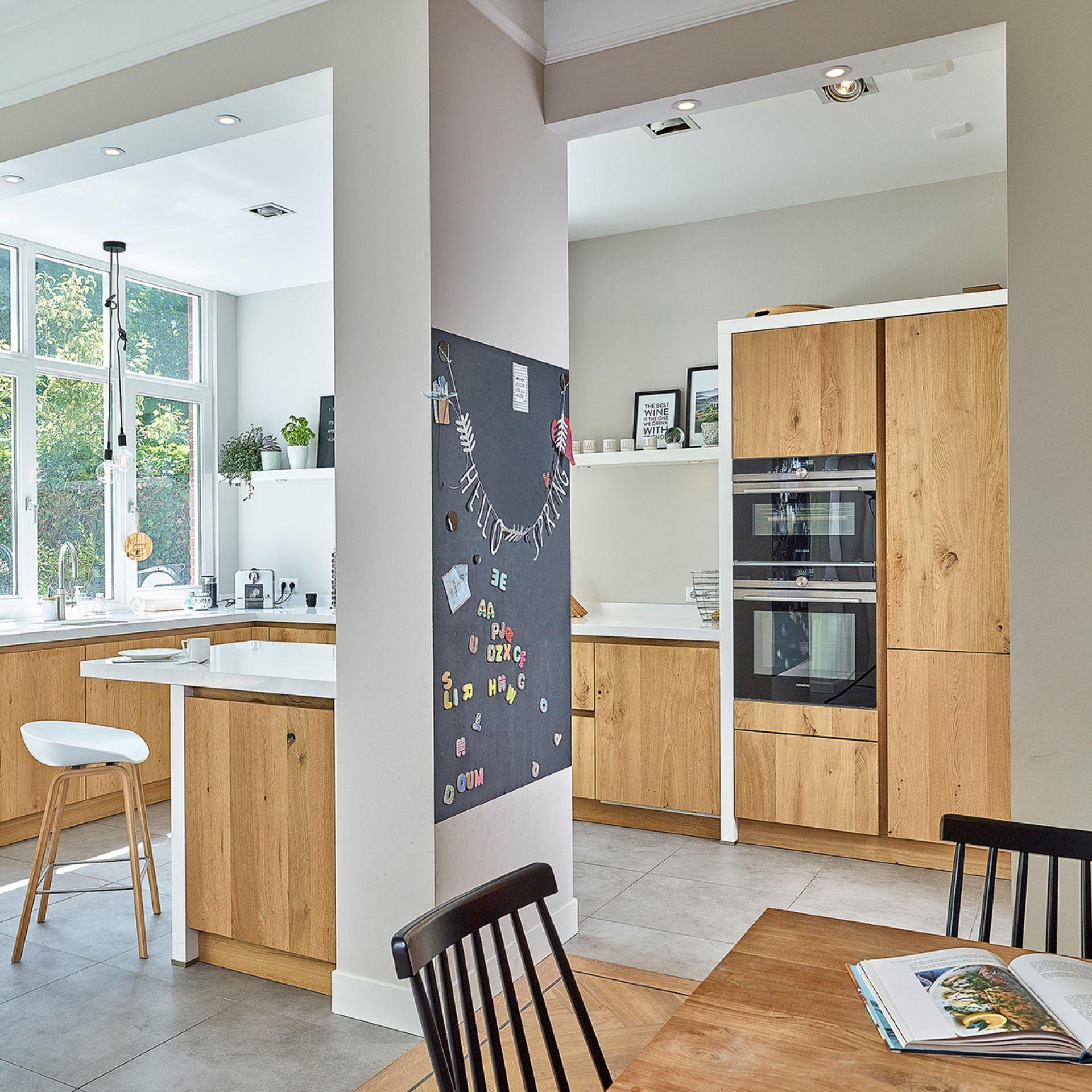 Robust Und Warm Moderne Kuche Haus Kuchen Landhauskuche