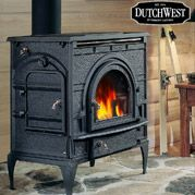 Outdoor Wood Burning Fireplace Wood Heater Vermont Castings