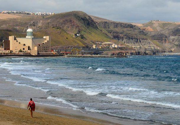 Miplayadelascanteras Com Miplaya Palmas Las Palmas De Gran Canaria Playa