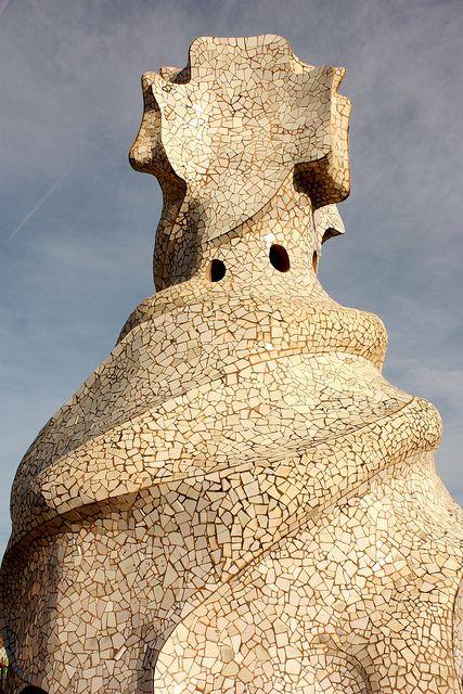 Casa Milà La Pedrera De Gaudí Barcelona Barcelona