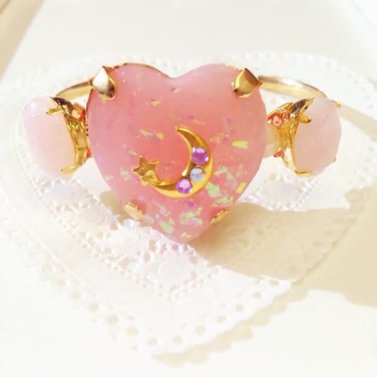 HIMITSU✡GIRL Bangle(pink*babypink)