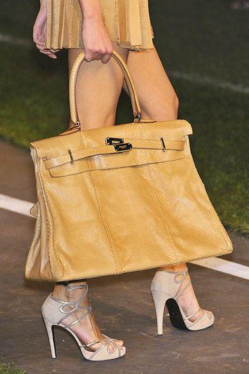 Emmy DE * Hermès Birkin bag