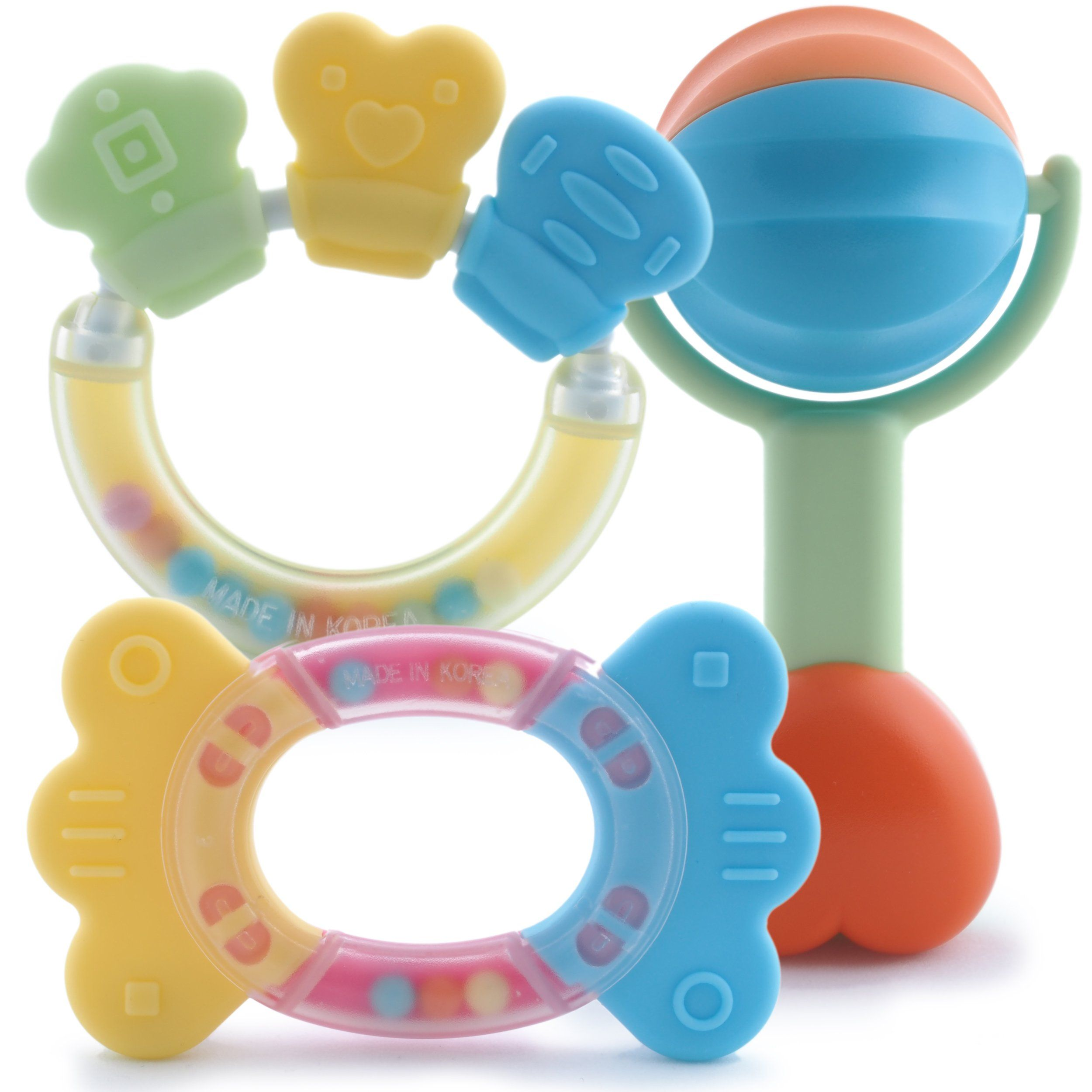 Kids Doll Chew Ring Links Toothbrush Baby Toy Teething Necklace Interesting BA