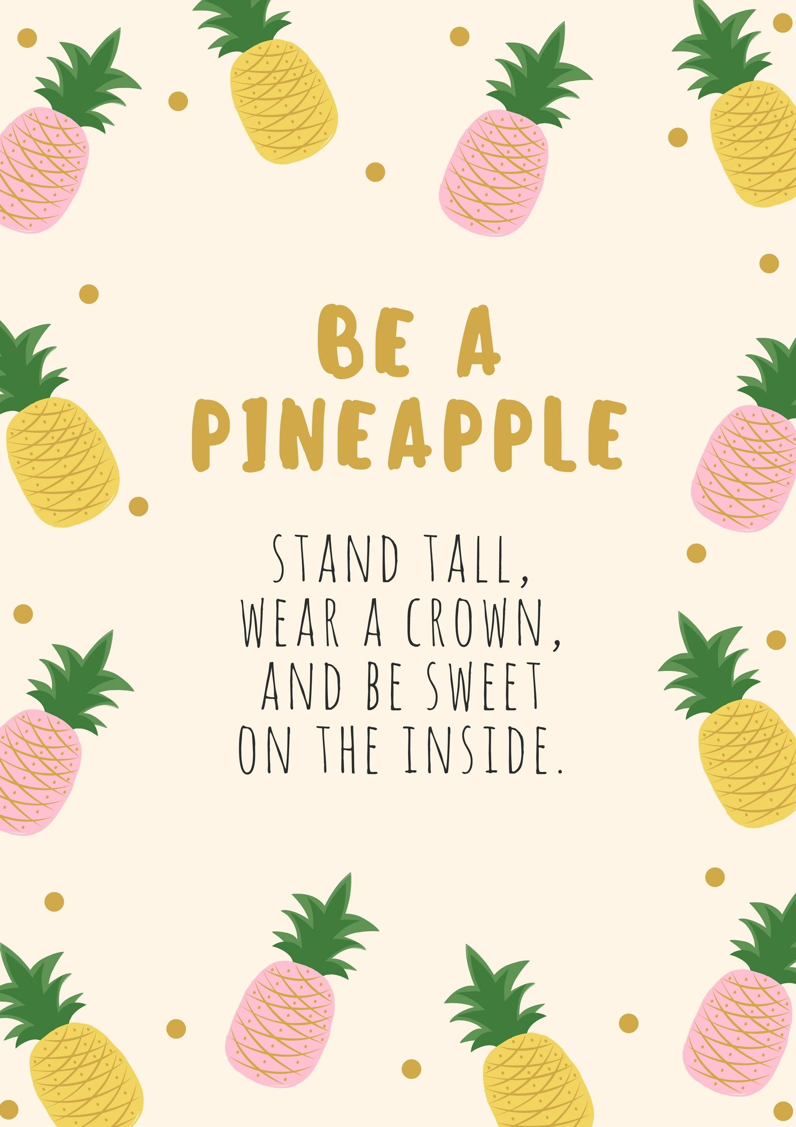 Pineapple fruit quotes