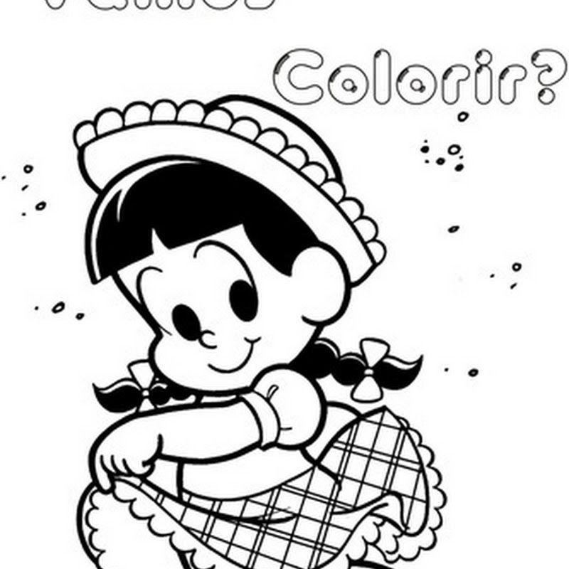 Desenhos Colorir Festa Junina Turma Da Monica Escola Mural 3 Jpg