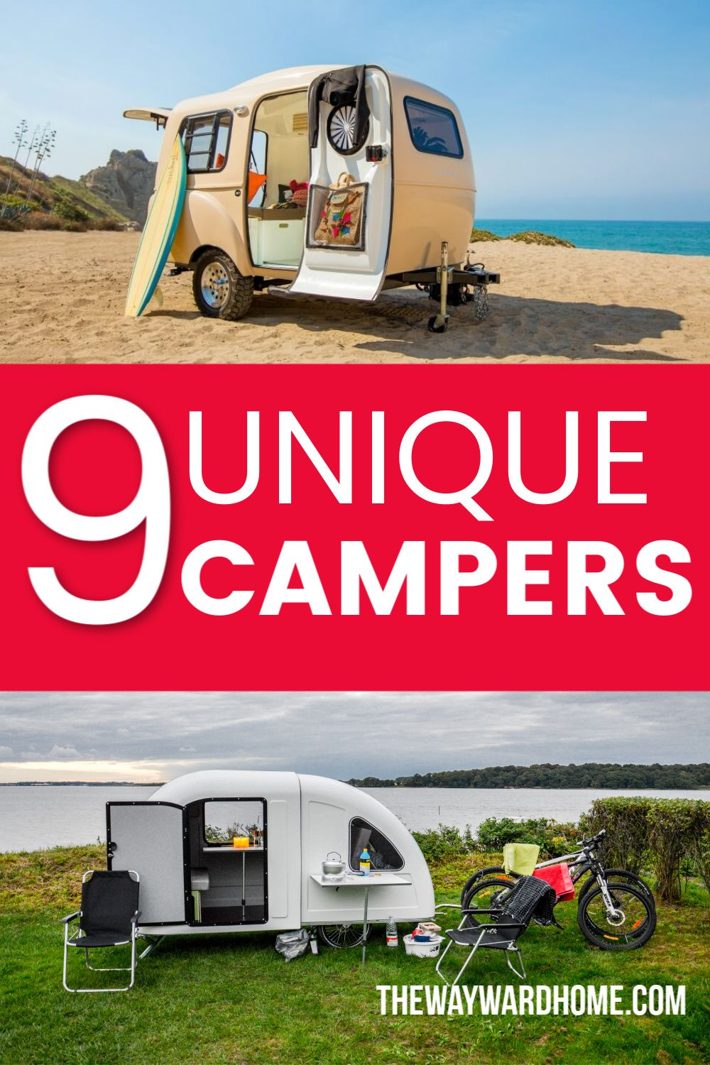 9 Stunning Small Campers You Can Tow With Any Car Camper