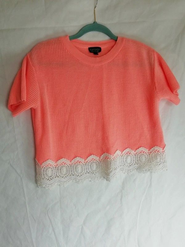 e8fbdf22a6c538 Off white lace trim . Waist length . Excellent pre-loved condition Please  see images for full visual description and i.