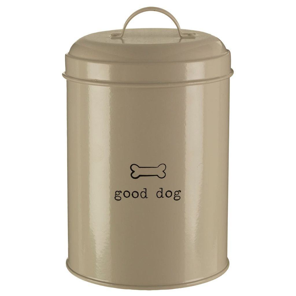 Adore Pets Good Dog Food Storage Canister Galvanised Steel