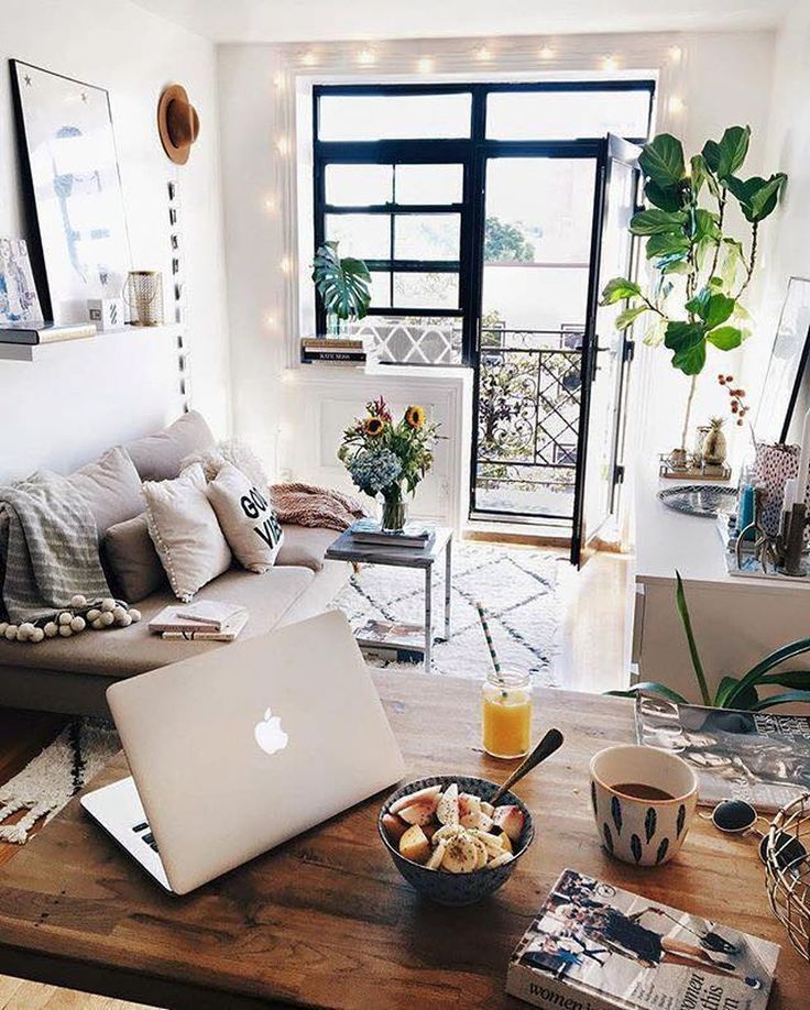 Cute Apartment Bedroom Ideas You Will Love 01 Bedrooms Small Apartment Decorating Apartment Inspiration Apartment Room Cute apartment living room decorating