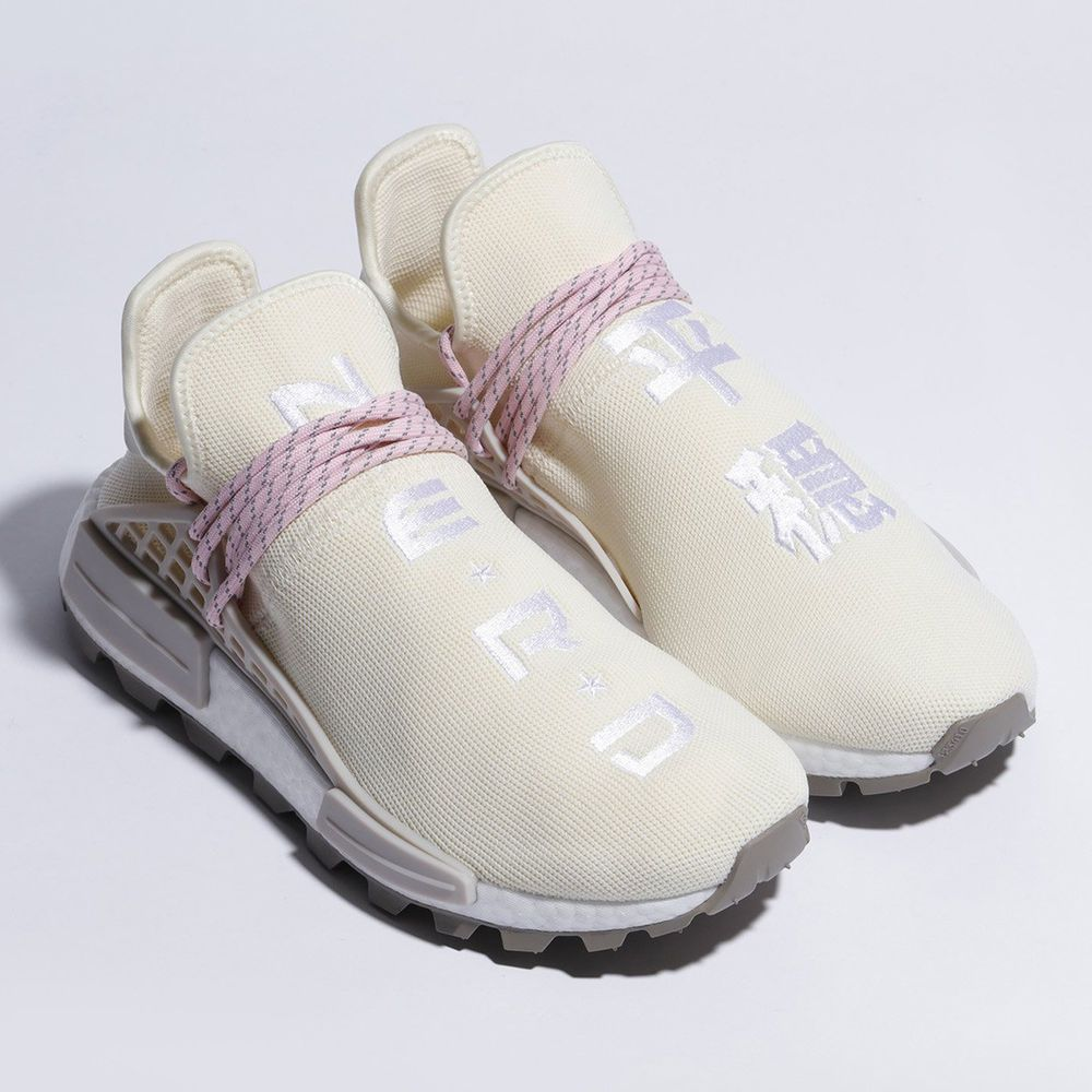 62f8a6fd5abbd eBay  Sponsored NEW Adidas NMD Human Race Trail NERD Pharrell N.E.R.D.  Cream boost Hu EE8102