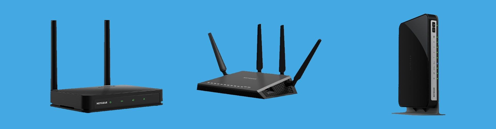 The Netgear routers provide you with beamforming technology