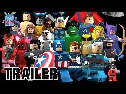 Lego Marvel Superheroes Big Figures Official Hd Trailer Youtube Lego Superhelden Lego Film Marvel Superhelden