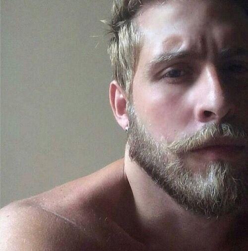 Pin By David Jones On Men Blonde Blonde Beard Beard Beautiful Men Faces