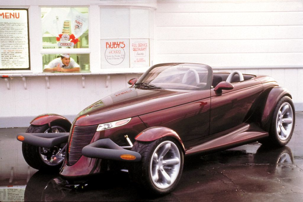 1993 Plymouth Prowler Concept most cars nowadays are UGLY, generic ...