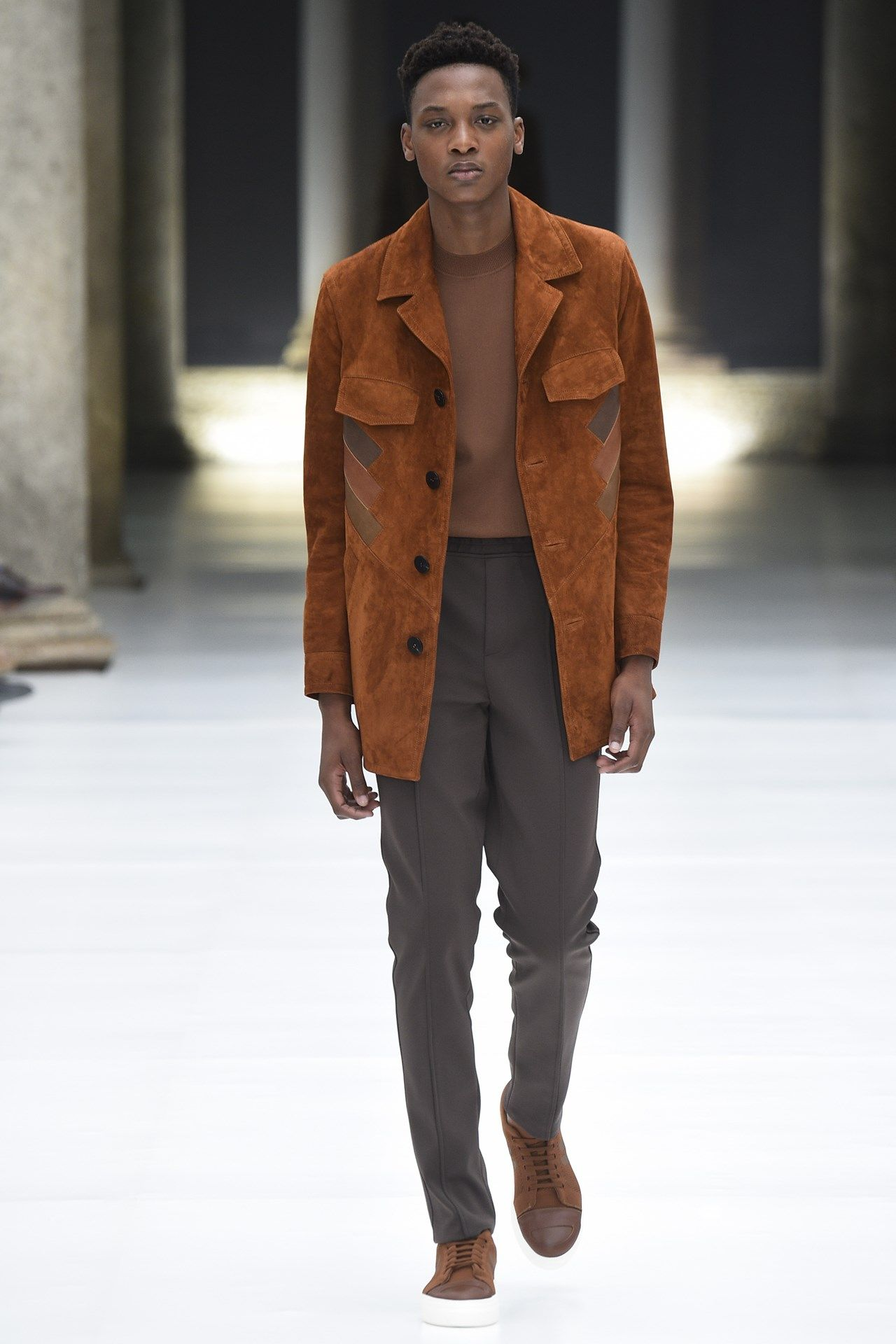 Catwalk photos and all the looks from Neil Barrett Spring/Summer 2017 Menswear Milan Fashion Week