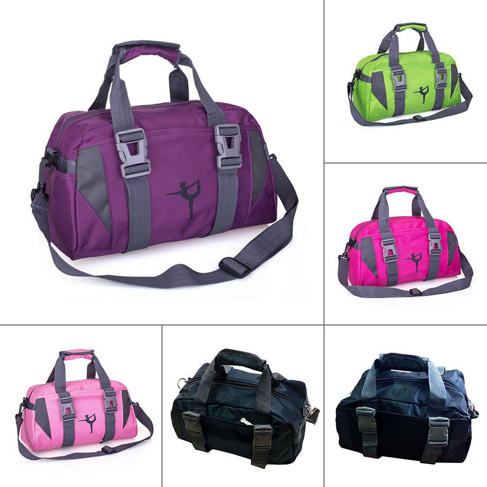 2f433dfbbf  13.29 - Women Yoga Gym Bag Waterproof Nylon Shoulder Crossbody Sport  Travel Fitness Hot  ebay
