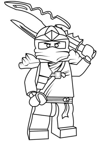 lego ninjago jay zx ausmalbild | ninjago ausmalbilder