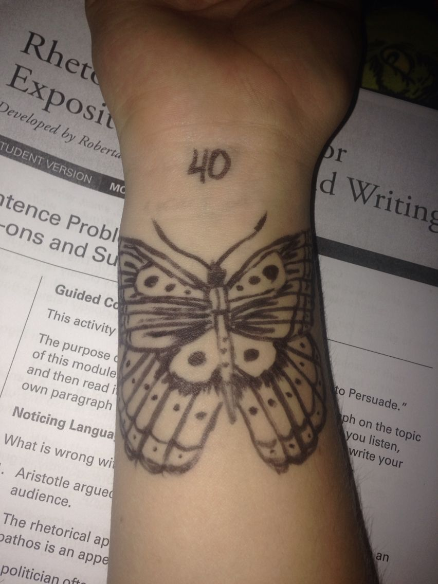 Butterfly project. Each day counts and should be looked at