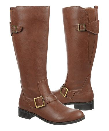 Loving this Cedar Spell Wide-Calf Boot on #zulily! #zulilyfinds