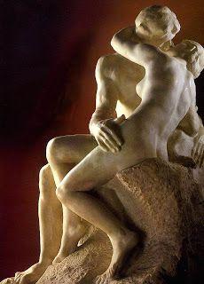 O Beijo by Rodin - Desenho e História da Arte