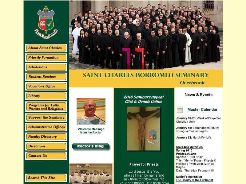 St charles borromeo seminary overbrook seminary