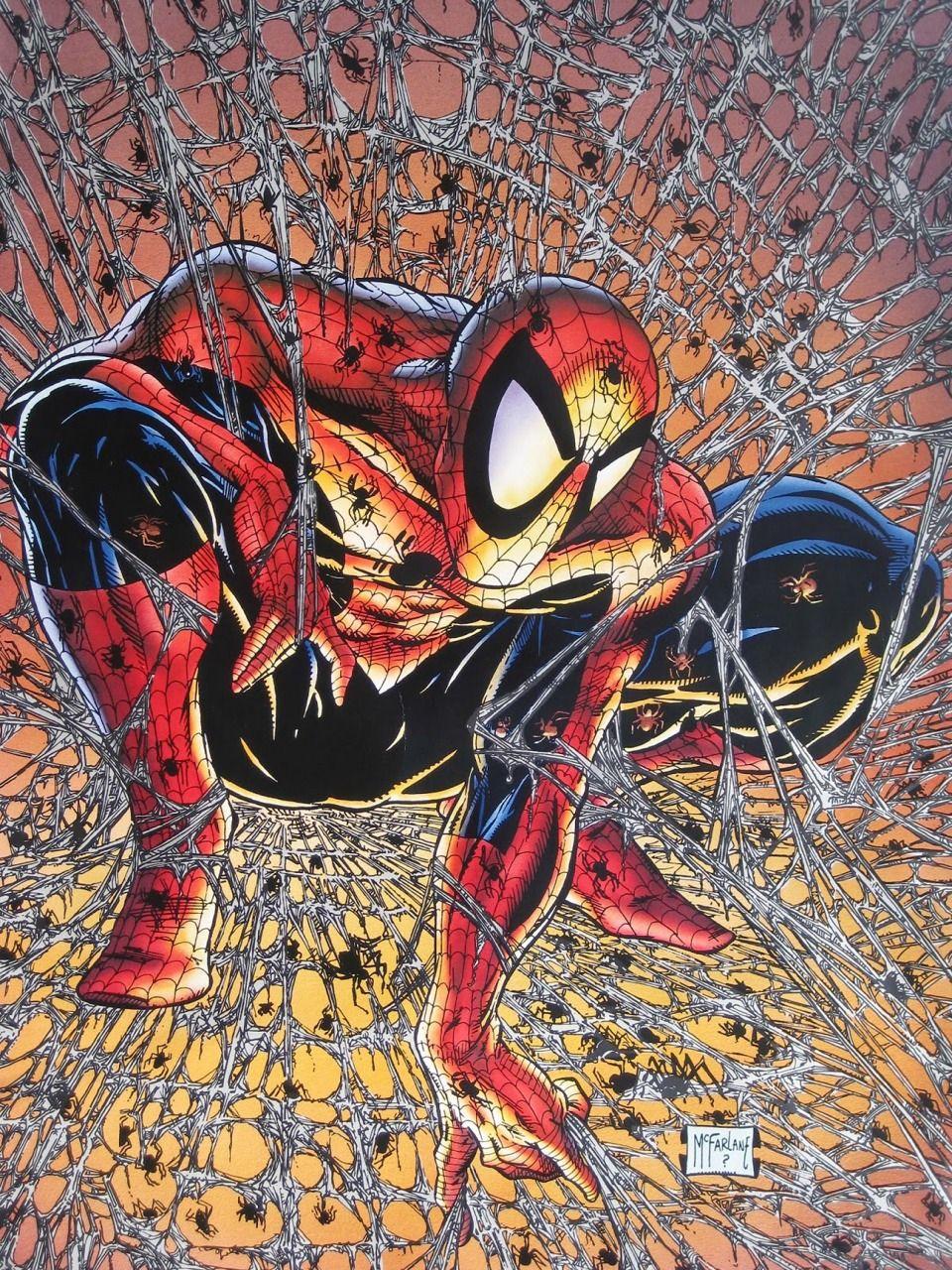 Spider-man Todd Mcfarlane Spiderman Art