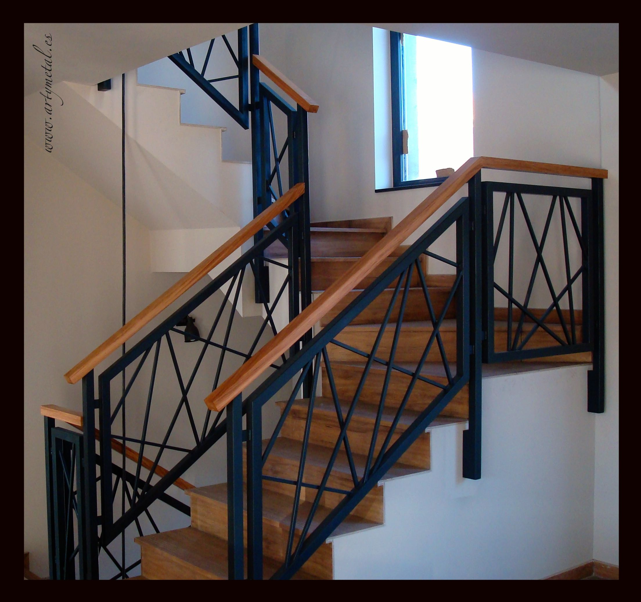 Barandilla de dise o contemporaneo architecture - Barandillas de hierro ...
