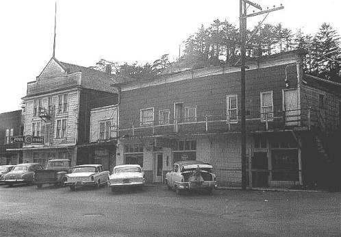 Newport In Lincoln County Oregon 1962 Historic Oregon