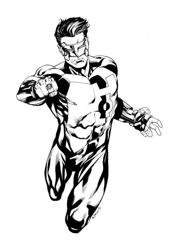 JLA January Green Lantern SOTD by RobertAtkins.deviantart.com on ...