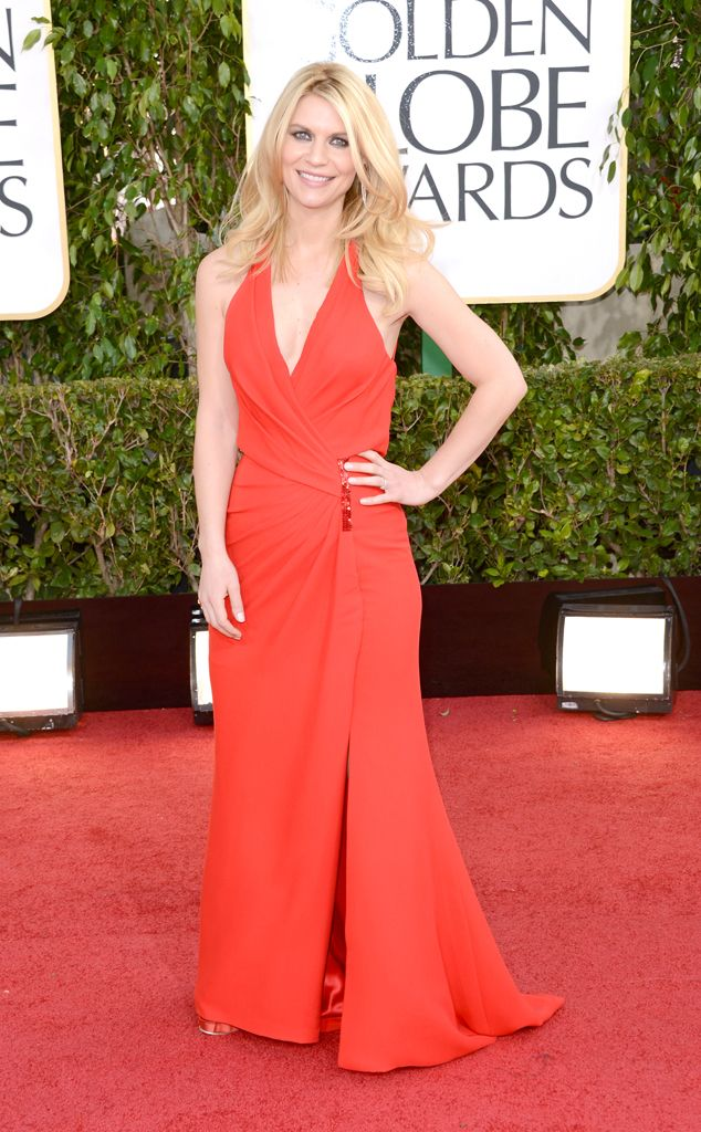 Claire Danes from 2015 Emmy Nominees' Best Looks  In Versace