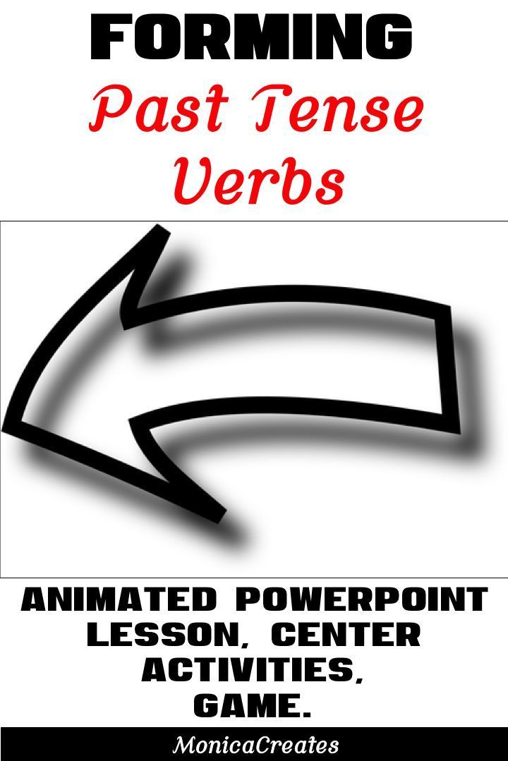 forming past tense verbs lesson plan activities powerpoint