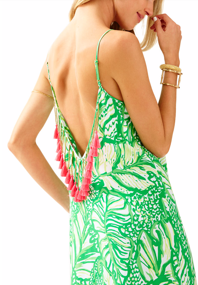 Pretty maxi dress for summer