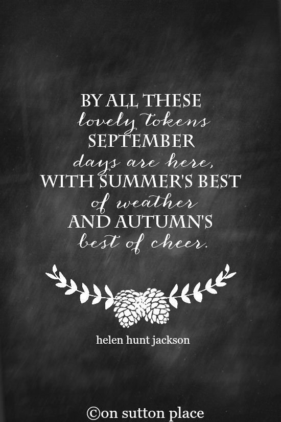Citaten Herfst Free : September quote free printables printables herfst