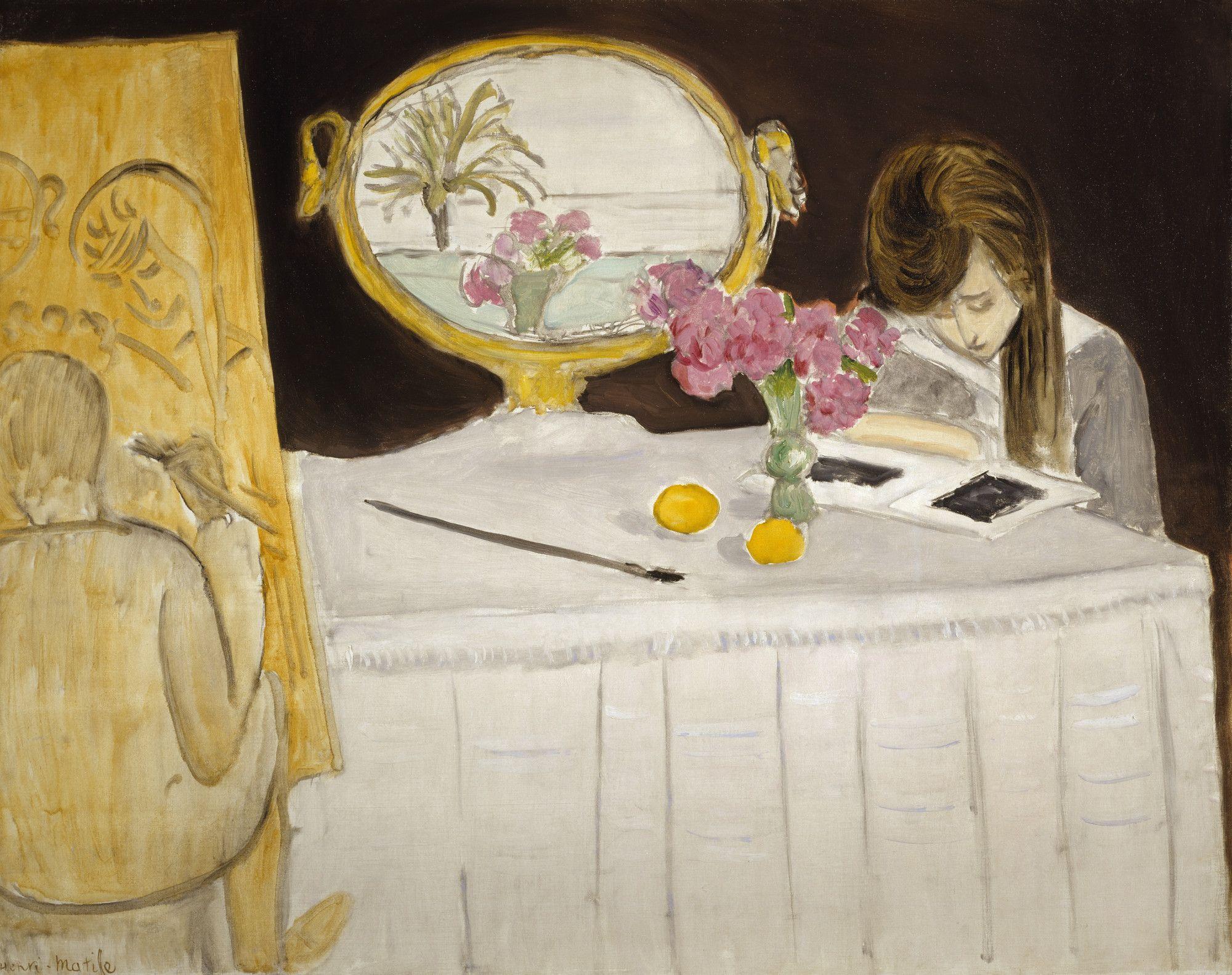 la lecon de peintur   Henri matisse, Matisse art, Painting