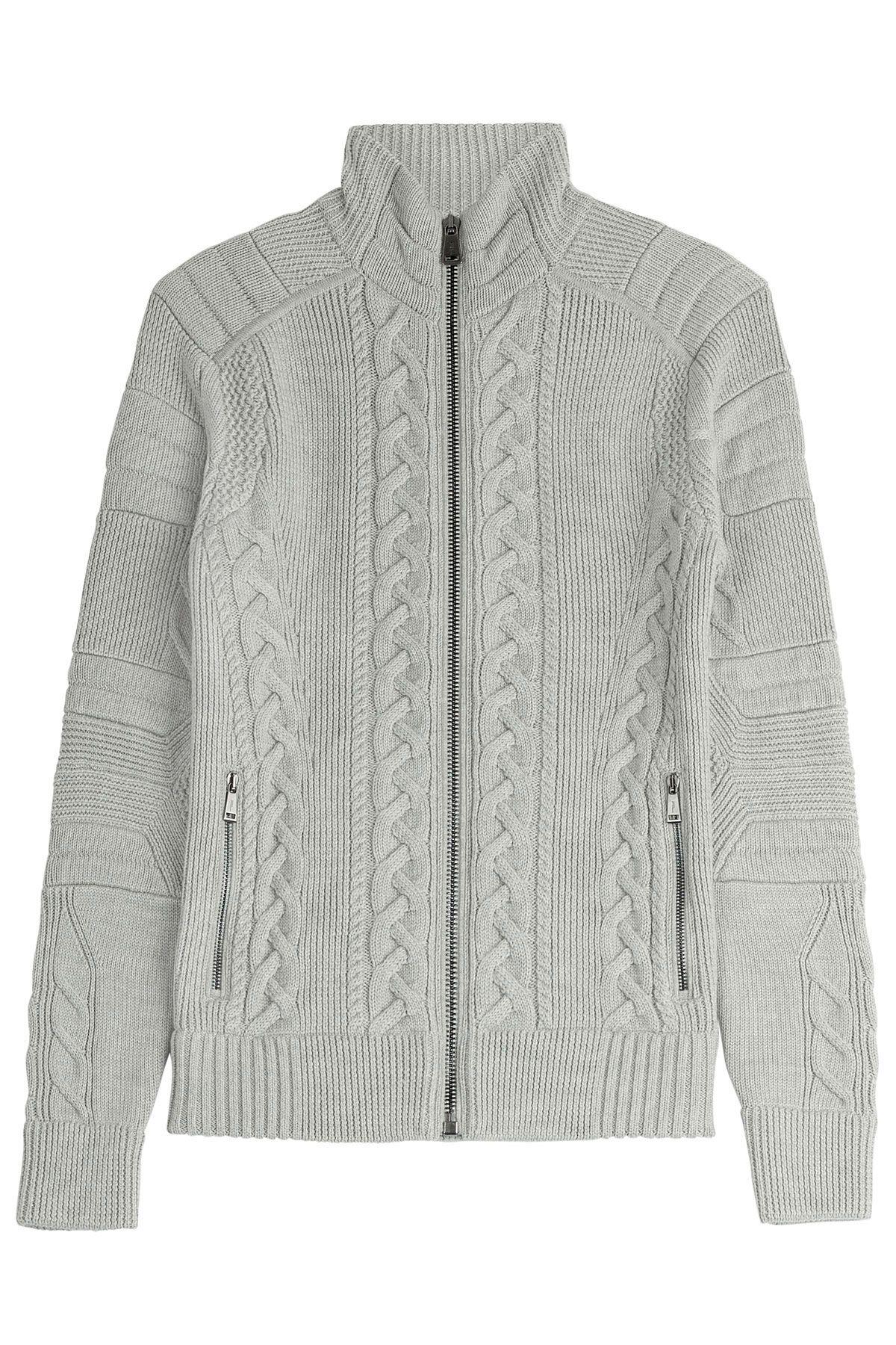955cecf364eff3 Zipped Wool Jacket from RALPH LAUREN BLACK LABEL | Luxury fashion online |  STYLEBOP.com