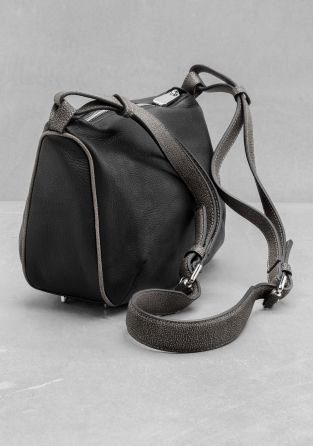 & Other Stories | Leather Crossbody Bag