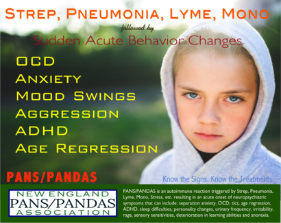 Autoimmune Neuropsychiatric Disorder Associated With Streptococcal Infections Pandas And Pediatric Acute Onset Neuropsychiatric Syndrome Pans