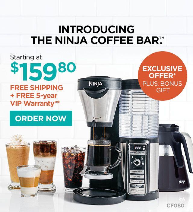 Introducing the Ninja Coffee Bar