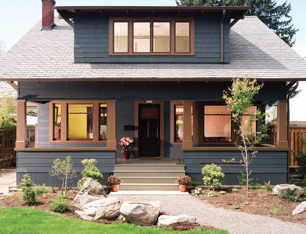 Home Remodeling Portland Exterior Decoration Best Craftsman House Gallery  1909 Craftsman Bungalow Whole House . Decorating Inspiration
