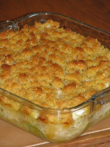 Crumble de cabillaud recette gastronomie pinterest recette recette poisson et plat - Cuisine legere thermomix ...